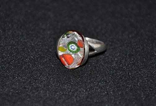 biżuteria srebrna z ceramiką