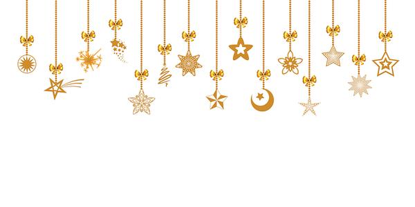 złota celebrytka - naszyjnik z gwiazdkami